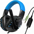 Game Audio and Online chatting Headset
