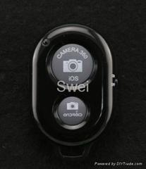 Wireless remote control bluetooth camera shutter for smartphone