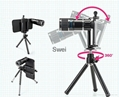 "12X Zoom Telephoto Lens With Back Case And Mini Tripod For iPhone6 (4.7"") 6"