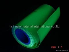 Luminescent Film(glow in the dark film) (Hot Product - 1*)