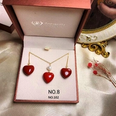 red coral /set #102