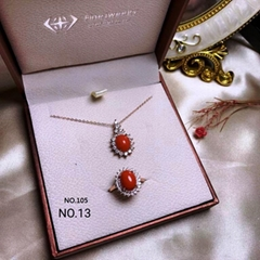 red coral /set #105