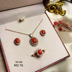 red coral /set #108