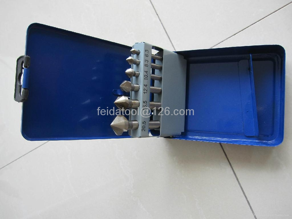 6 pcs countersinker set