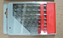 8pcs Masonry drill bits