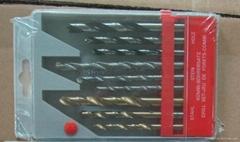 9 pcs combination drill set