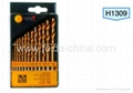 13 PCS HSS TWIST DRILLS