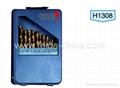 13 pcs HSS drill set in Metal box
