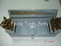 115 PCS HSS Twist Drill , Titanium