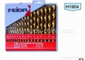 19PCS HSS TWIST DRILL SET