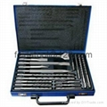 17 pcs Sds plus & Chisels