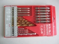 19 PCS twist drill set  11