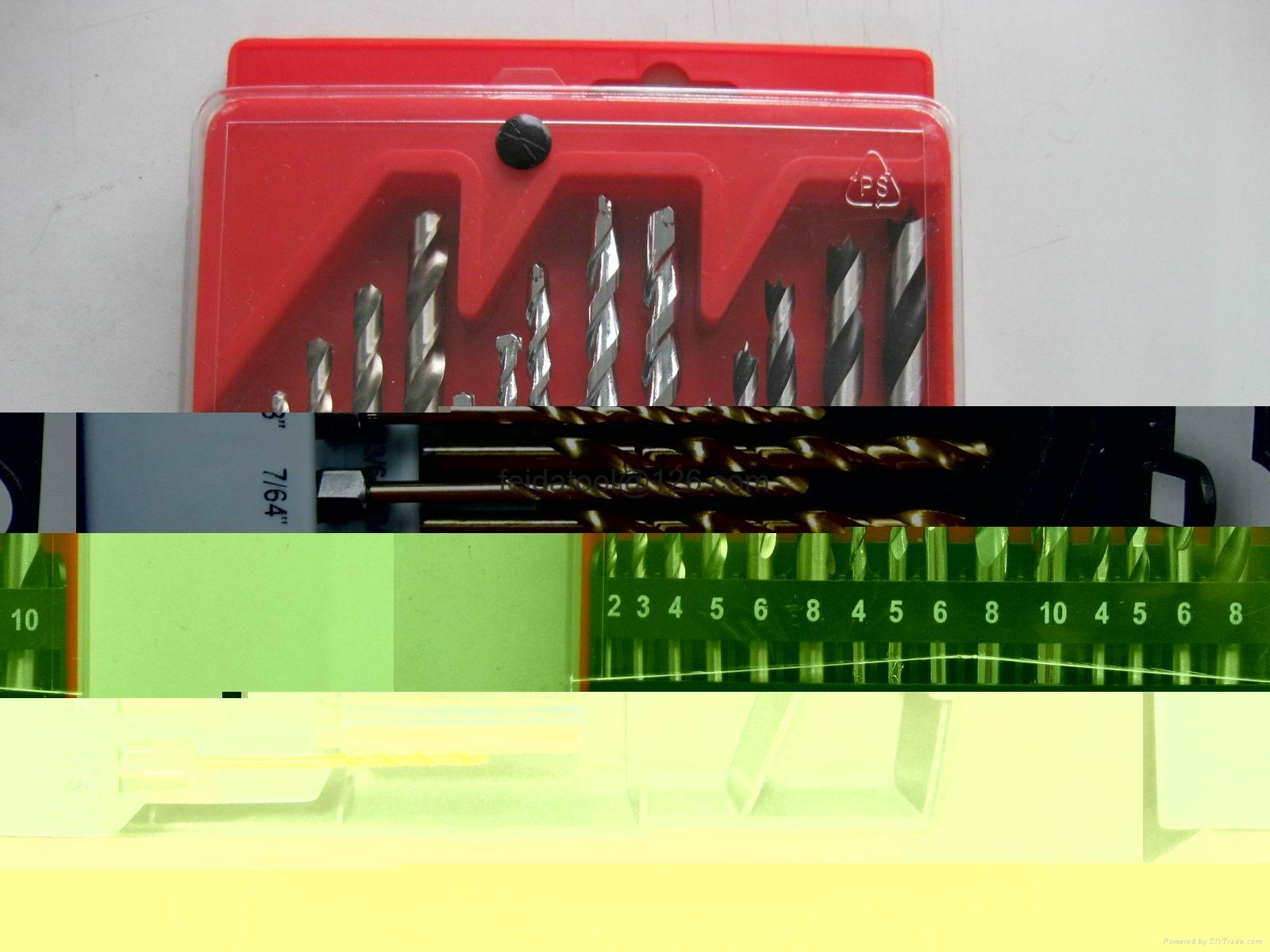 19 PCS twist drill set  13