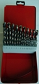 19 PCS twist drill set  14