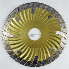 Deep Cutting Turbo Diamond Saw Blade