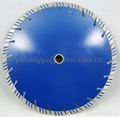 Slanted Segment Turbo Diamond Saw Blade