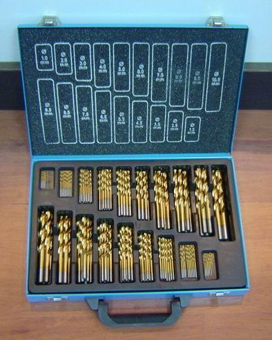 170 pcs HSS drill bit set