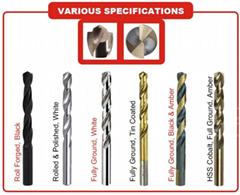 HSS twist drill bits (Hot Product - 2*)