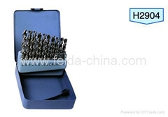 29pcs hss twist drill bit set