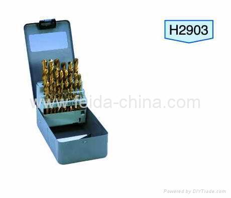 tin coated drills