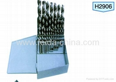 29pcs twist drill bit set