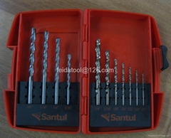 11pcs Combination Drill Bit