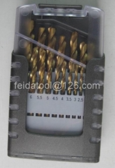 19 PCS twist drill set
