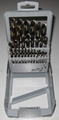 29 pcs HSS cobalt drills in Metal box