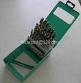 25 PCS HSS cobalt drills in Metal box