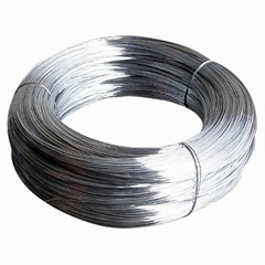 Ga  anized iron wire