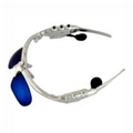 4GB Coating Sunglass MP3 Player with Blue Lens