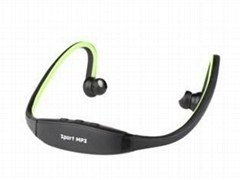 Sports Hands-Free MP3 Player with Micro SD Card Reader