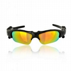 2GB Coating Sunglass MP3 Player with Yellow Lens