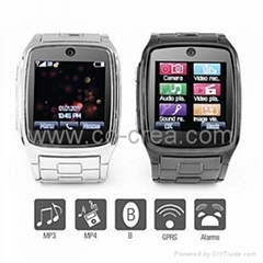 TW - 1.6 Inch Watch Cell Phone (JAVA, MP3, MP4, Bluetooth)