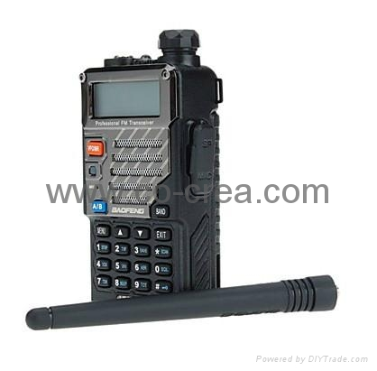 New Version (VHF136-174Mhz UHF 400-480Mhz)VHF/ UHF Dual-Band Two Way Radio 1