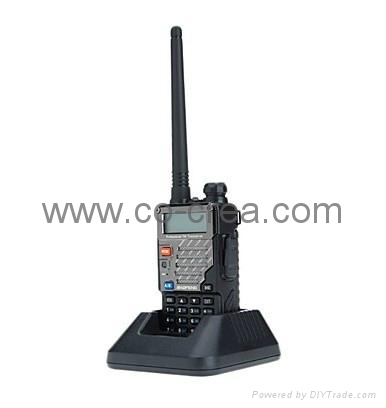New Version (VHF136-174Mhz UHF 400-480Mhz)VHF/ UHF Dual-Band Two Way Radio 4