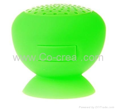 Wireless Bluetooth Portable Adsorption Speaker for Outdoor Indoor Mp3 Audio Play 2