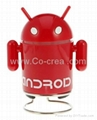 Android Robot Fashionable Portable Speaker with FM