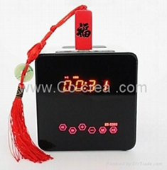 Portable Cool-Design Mini Speaker for Laptops/mobilephone/iPod/PC/MP3/MP4 Option