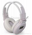 High Quality MP3 Headphone from SD/MMC card(White)