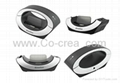 iCreation Bluetooth Handset with iPhone Charger for iPhone 4