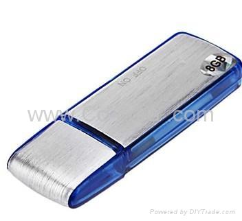 8GB Digital pen Voice Recorder II + USB Flash Memory Stick Drive V01(Blue) 2