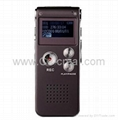 Hot Sell 8G MP3 Digital Voice Recorder (Wine Red)