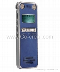 "Newest 1.1"" Hi-fi Automatic Noise Reduction Digital Voice Recorder 8G-Blue"