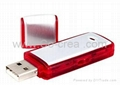 High quality hot sell USB disk with voice recorder 8gb