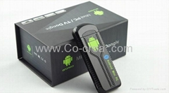 Android 4.2 TV Player Rockchip3066 1600Mhz Dual-core(Wi-Fi Bluetooth 1GB RAM 8G