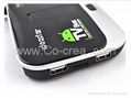 BX09 Quad-Core Android 4.2.2 Google TV Player 2GB RAM16GB ROM 5.0MP Cam Mic Blue