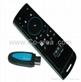 MELE F10 Pro USB 2.4GHz Wireless Fly Air Mouse Remote Control Keyboard Earphone