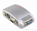 USB Powered VGA to Composite + S-Video Converter Box (1280*1024px Max)