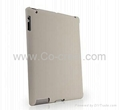 09MM Ultra Thin And Light Back Cover For iPad2-White
